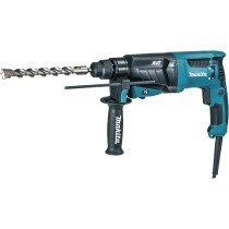 Makita HR2631F 240V 3 Function SDS Hammer Drill with LED Light, 26mm Capacity-240V