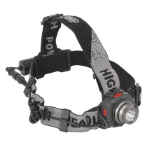 Sealey HT106LED Head Torch 3W CREE LED Auto Sensor Rechargeable