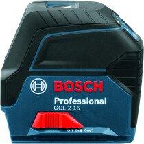 Bosch GCL 2-15 + RM1 Professional Combi Laser in Carton