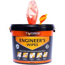 Tygris HW111 Engineer's Wipes (Tub of 111)