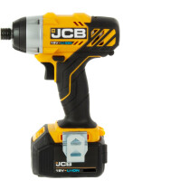 JCB-18ID-4  Professional18V Impact Driver with 2 x 4.0Ah Batteries in  L-Boxx 136