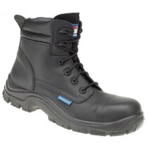 Himalayan 5114 Black Leather HyGrip Safety Boot Metal Free S3 SRC