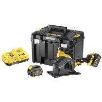 DeWalt DCG200T2-GB 54V XR Flexvolt Wall Chaser with 2 x 6.0Ah Batteries in TSTAK Carry Case