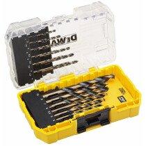 DeWalt DT70728-QZ 19pc HSS Black and Gold Drill Set