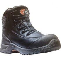 V12 Footwear Intrepid IGS V1720 Womens Black Metal Free Safety Boot S3 HRO SRC