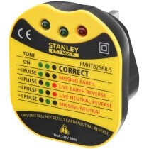 Stanley FMHT82568-5 FatMax® UK Wall Plug Tester INT582568