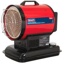 Sealey IR20 Infrared Paraffin / Kerosene / Diesel Heater 20.5kW 230V