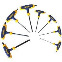 Irwin T10771 T Handle Hex Key Set of 8 Metric (2-10mm) IRWT10771