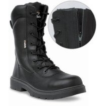 "Jallatte JMJ10 ""JALEVOLUTION"" S3 Zip & Lace High Leg Work Safety Boot UK6.5"