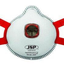 JSP Spirotek BEK136-101-A00 Typhoon™ Moulded Mask FFP3 Valved (735) Box of 10
