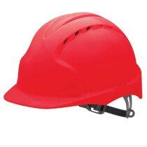 JSP Evo 2 Vented Standard Peak One Touch Safety Helmet