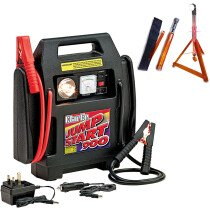 Clarke Jumpstart 900 12v Rechargeable Power Supply and Boost Starter +FREE Roadside Rescue Light