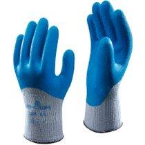 Showa 305 Extra Grip Gloves Blue