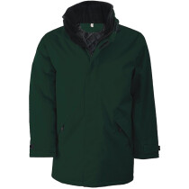 Ralawise Kariban KB677 Parka Padded Fleece Jacket KB677 - Forest Green