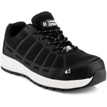 Buckler Boots Kez BK Largo Bay Black Safety Lace Trainer S1 P HRO SRC