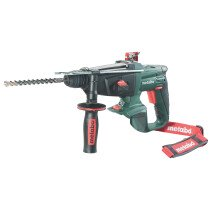 Metabo KHA18LTX Body Only 18V SDS 3-Function Hammer in Metaloc Carry Case