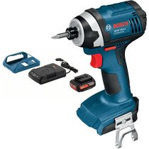 Bosch GDR 18 LIN + GBA 18 V 2.0 Ah Battery & Charger 18V Light Series Impact Wrench in Carton
