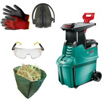 Bosch AXT 25 D 2500W 240V Electric Shredder with Essential Kit