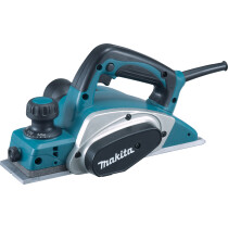 Makita KP0800K 82mm Planer (2.0mm Cutting Depth) with Plastic Carry Case