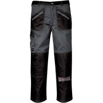 Portwest KS12 Chrome Trouser - Black/Zoom Grey - Regular Leg Length