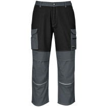 Portwest KS13 Granite Trouser Workwear - Black/Zoom Grey - Regular Leg Length