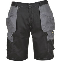 Portwest KS18 Granite Holster Shorts - Black/Zoom Grey