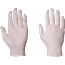 Supertouch 10301 Natural Clear Latex Powder Free Disposable Gloves