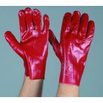 "Lawson-HIS GLP200 10½"" (27cm) PVC Gauntlet Glove with  open cuff (Size 9½ -10)"