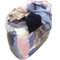Lawson-HIS JWR200 Silk-Free Coloured Cloth Rags 10KG