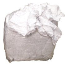 Lawson-HIS JWR230B White Towelling Rags - 8KG