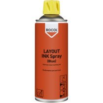 Rocol 57015 Layout Ink Spray Blue - Ultimate Metal Marking Ink 400ml