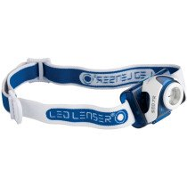 Ledlenser 6107-R SEO7R Rechargeable LED Headlamp - Blue LED6107