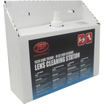 JSP ASE300 Lens Cleaning Station (1,520 lens tissues, 16oz cleaning formula)