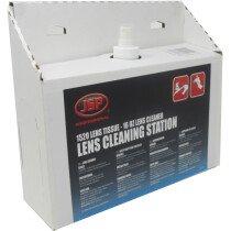 JSP ASE300 Lens Cleaning Station (1,520 lens tissues, 16oz cleaning formula)