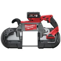 Milwaukee M18CBS125-502C 18V Fuel Deep Cut Band Saw (2 x 5.0ah batteries, charger, BMC)