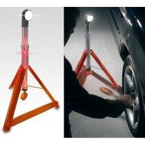 JSP LMV130-000-000 Multi-Function Roadside Rescue Wand, Light & Safety Triangle