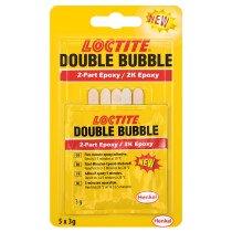 Loctite Bondmaster E01 3-gram Double Bubble Two Part Epoxy 3 gram sachet (DB50)