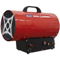 Sealey LP100 Space Warmer Propane Heater 61,000-102,000Btu/hr