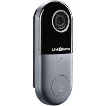 Link2Home L2HBELLW Weatherproof (IP54) Smart Wire Doorbell with Camera  LTHBELLW