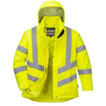 Portwest LW74 Ladies Hi-Vis Winter Jacket High Visibility - Yellow