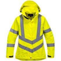 Portwest LW70 Ladies Hi-Vis Breathable Jacket High Visibility - Yellow
