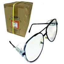 JSP Invincible Lyra Safety Spectacles (Carton of 120 pairs) Clear Glasses