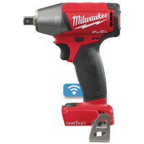 """Milwaukee M18ONEIWP12-0  M18 Body Only  ONE-KEY Pin Detent Impact Wrench 1/2"""" Reception"""