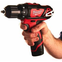 Milwaukee M12 BDD-202C 12V Compact Drill/Driver with 2x2.0Ah Batteries in Case