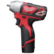 "Milwaukee M12BIW14-202C 12v Li-ion FUEL Compact 1/4""Dr Impact Wrench (2X2.0Ah)"
