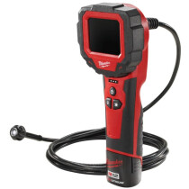 Milwaukee M12IC-201C  M12 Inspection Camera Digital -  9mm head 3 ft. cable (1 x 2ah Li-ion Battery, charger, BMC)