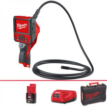 Milwaukee M12ICAV3-201C M12 Inspection Camera 9 Foot Cable (1 x 2.0ah Battery, Charger BMC)
