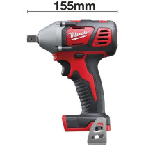 "Milwaukee M18BIW12-0 Body Only 18v Li-ion  Compact Impact Wrench 1/2""Dr"
