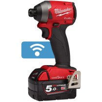 Milwaukee M18ONEID2-502X M18 One Key Impact Driver with 2 x 5.0Ah Batteries