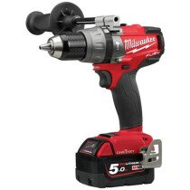 Milwaukee M18ONEPD2-502X 18V Combi Drill with 2 x 5Ah Batteries